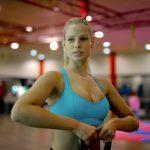 confident woman breast enlargement